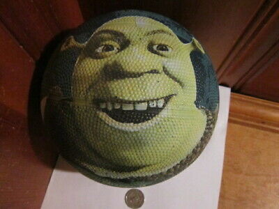 "Vintage Good Stuff 2004 Shrek 2 Green Ogre 7"" Basketball Dreamworks Movie Promo"