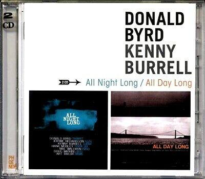SEALED NEW CD Donald Byrd, Kenny Burrell - All Night Long + All Day Long