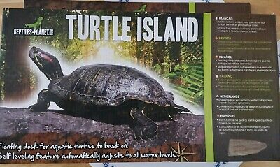 Reptiles Planet Turtle Island for Aquatic Turtles, Large