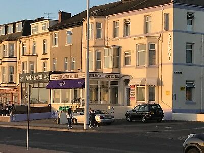 CHRISTMAS HOLIDAY BLACKPOOL FOR 2 FULL BOARD & ENTERTAINMENT. 4 nts SEAFRONT