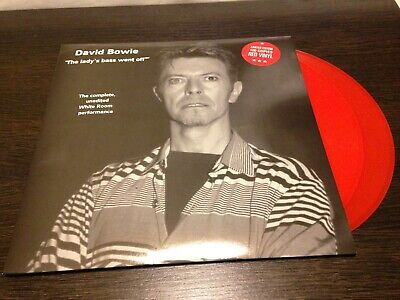 DAVID BOWIE 2LP the lady's bass went off, the complete unedited white room perfo