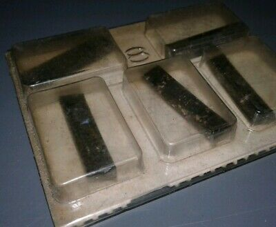 5 Pc. Cole Carbide Industries Dbf125Fr    C-2  Inserts