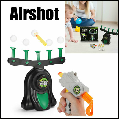 Kids Air Shot Hovering Target Shooting Ball Game Gift Party Toys Having Fun Baby