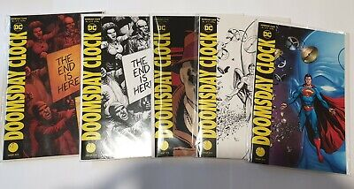 DOOMSDAY CLOCK 1 - 12 (full Set) & Variants  JOHNS/FRANK  28 comics