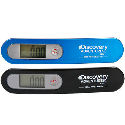 Discovery Digital Luggage Hanging Scales Travel Portable Electronic Weight 50KG