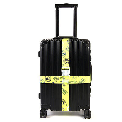 Cross Strap Travel Luggage Suitcase Baggage Bag Tie Down Packing Belt Adjustable