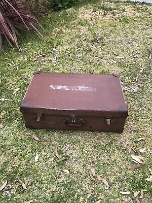 Vintage suitcases for display or art
