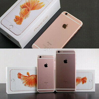 New Apple iphone 6s 16GB 64GB All Colors Factory Unlocked 100% New Sealed Box UK