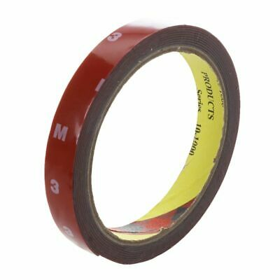 3M Strong Permanent Double Sided Super Sticky Foam Tape Roll For Vehicle Ca Q1M3