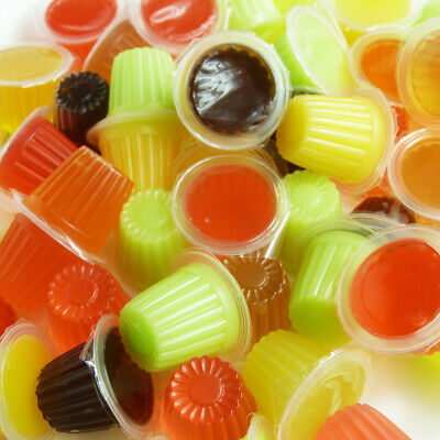 Reptile Jelly Pots - 50pk Mixed Fruit, Beetles, Reptile, Insect, Parrot