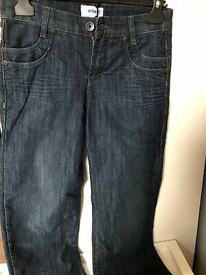 New Boys Hugo Boss  Dark Wash Denim Jeans Age 8 Years