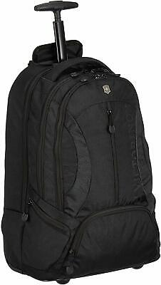 Victorinox VX Sport Wheeled Scout Rolling Carry On Backpack - Black