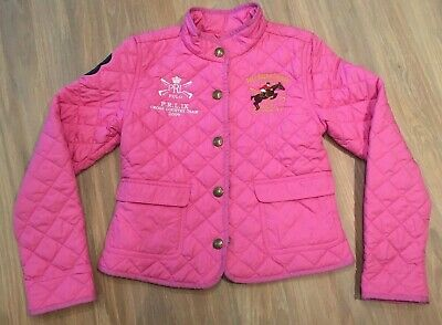 Childrens Pink quilted jacket by POLO RALPH LAUREN - Age 8-10