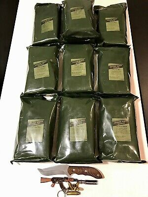 Military  Meal ready to eat MRE Lithuanian Survival Meal Pack, Energy boost
