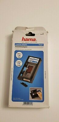 Hama VHS-C / SVHS-C to VHS cassette adapter.