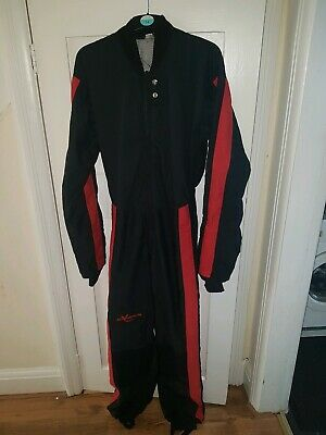 Skydiving Jumpsuit FS RW FF symbiosis Black red Skydive Suit freely