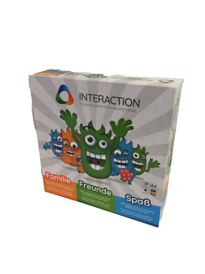 INTERACTION - Rudy Games -RG007- Interactive board game - Family Fun Game w/ app