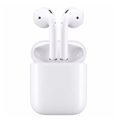 Apple Airpods 2nd Generation Gen 2 Wireless Ear Buds White Charging Case Genuine