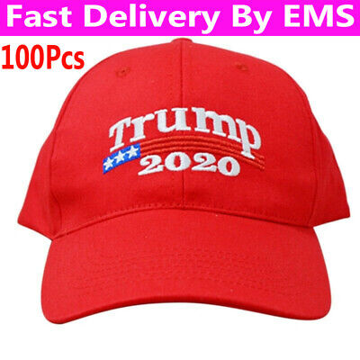 100X TRUMP 2020 MAGA Election Make America Great Again Hat Donald Trump Cap Red