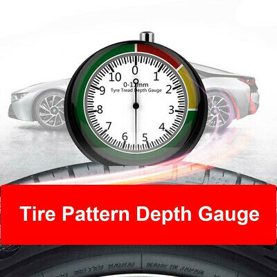 """2 Professional Dial Type Tire Tread Depth Gauge 1//32/"""" Increments Legacy"""