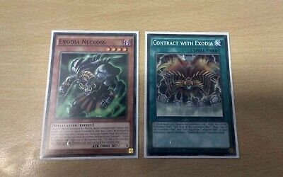 LDK2-ENY29 6x Contract with Exodia Common Limited Edition NM Yugioh