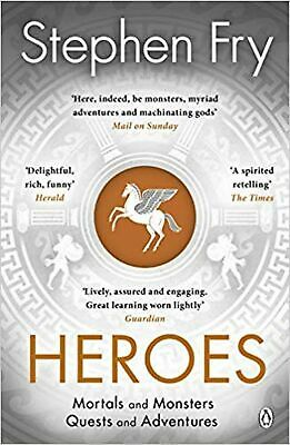 Heroes: The myths of the Ancient Greek heroes retold: Mort... Paperback Book NEW