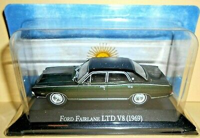 DIE CAST FORD FAIRLANE LTD V8 (1969) - AUTOS INOLVIDABLES (Indimenticabili) 1/43