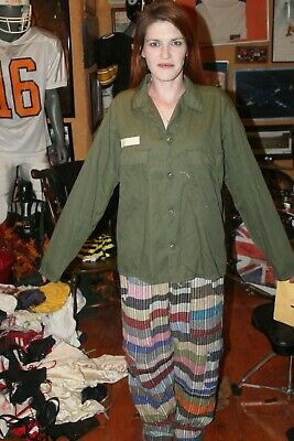 US Army Long Sleeve Shirt Approx Size Large Farthing Uniforms