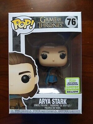 Funko POP! Game of Thrones Arya Stark #76 ECCC 2019 (Box Lunch) Exclusive