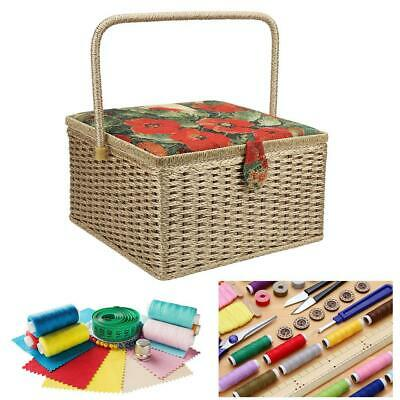 Large European Sewing Storage Box Household Embroidery Hand-Made Knitting Tool