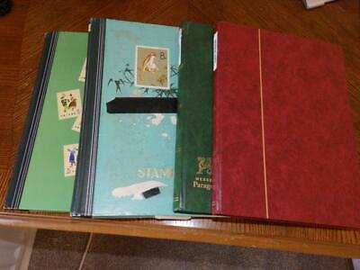 (4823) Commonwealth Collection M & U In 4 Stock Albums