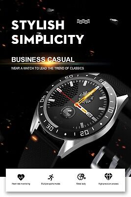CA Waterproof Smart Watch GPS Heart Rate Blood Pressure Monitor for iOS Android