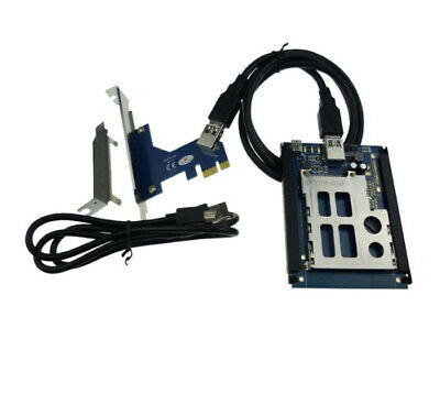 PCI-E to ExpressCard Converter PCIe USB 2.0 to express 34mm 54mm Adapter Card