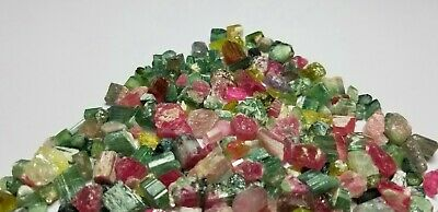 530 Carat  Mix Colour Tourmaline  Rough Lot From Afghanistan