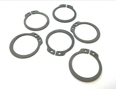 External circlips. DIN471. 25mm. C-Clip. Snap ring. Pack of 6. Top Quality