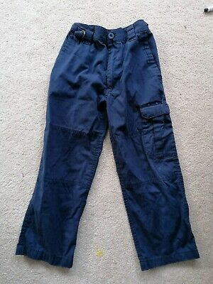 Age 7-8 Scouts Pants Navy Unisex trousers girls