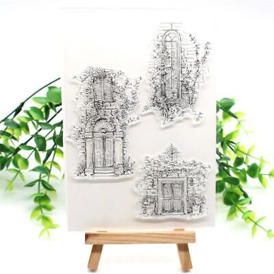 Doors Transparent Clear Silicone Stamp DIY Scrapbooking Card Making Craft paper