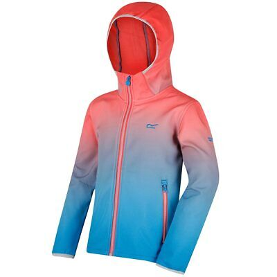 Regatta Kids Softshell Jacket Winter School Camping Travel Boys Girls Anodize