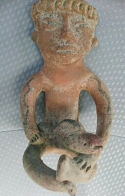 Pre-Columbian Costa Rica  Pottery Terracotta Sculpture Figure