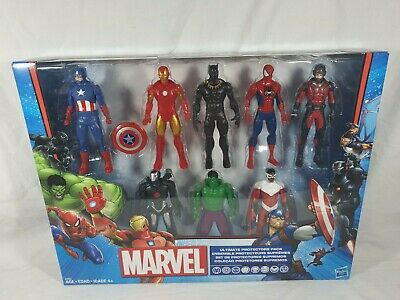Marvel Ultimate Protectors Pack Hasbro 2017 Aus Seller