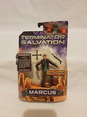 Terminator Salvation Marcus Figure Hand Cannon Playmates Toys 2009 Moc