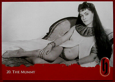HAMMER HORROR - Series Two - Card #20 - THE MUMMY - Strictly Ink 2010