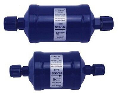 REFRIGERATION PRODUCTS LIQUID LINE FILTER DRIER inlet 5/8 outlet 5/8