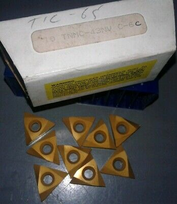 9pc. TNMC-43NV C-6 INSERTS. Our #1.