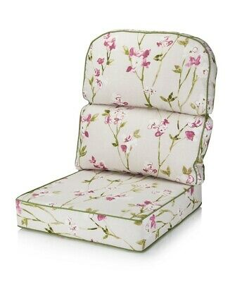 Alfresia Replacement Conservatory Chair Cushion Low Back  - Blossom Chintz