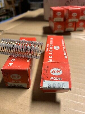"""Hard to Find Barker /& Williamson Airdux Air Wound Coil #606T New 3//4/"""" x 2/"""""""