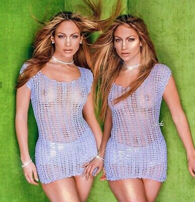 JENNIFER LOPEZ - VERY SEXY OUTFIT - Seeing Double ??