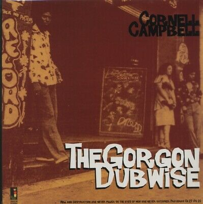 SEALED NEW LP Cornell Campbell - The Gorgon Dubwise