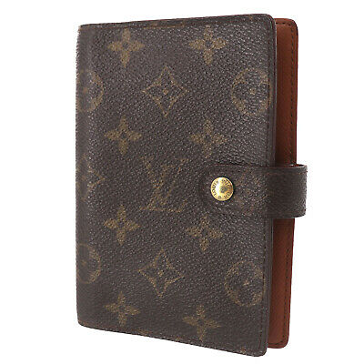LOUIS VUITTON Agenda PM Day Planner Cover Monogram R20005 Vintage Auth #GG820 O