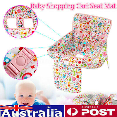 AU Baby Kids Market Shopping Trolley Cart Cover Seat Child Chair Protective